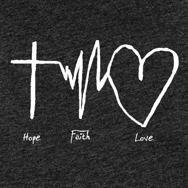 Hoffnung Glaube Liebe - hope faith love
