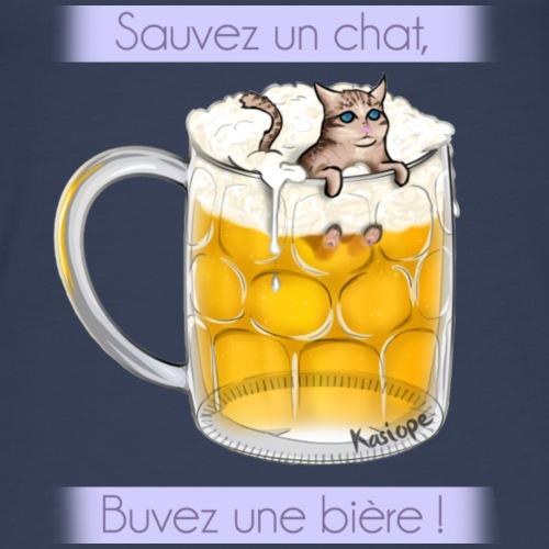 Chat dans la bière - Débardeur Premium Femme