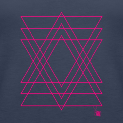 Geometry - Triangles - Women's Premium Tank Top