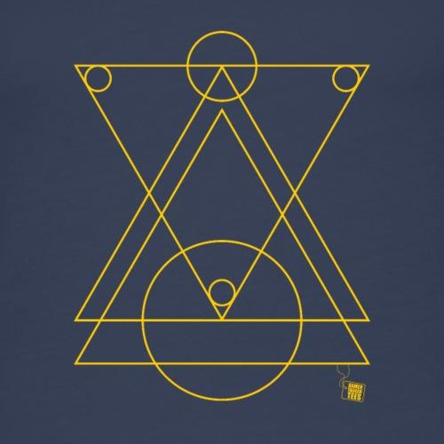 Geometry - Triangles Mixed - Women's Premium Tank Top