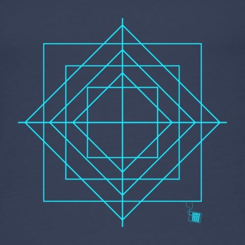 Geometry - Squares - Women's Premium Tank Top