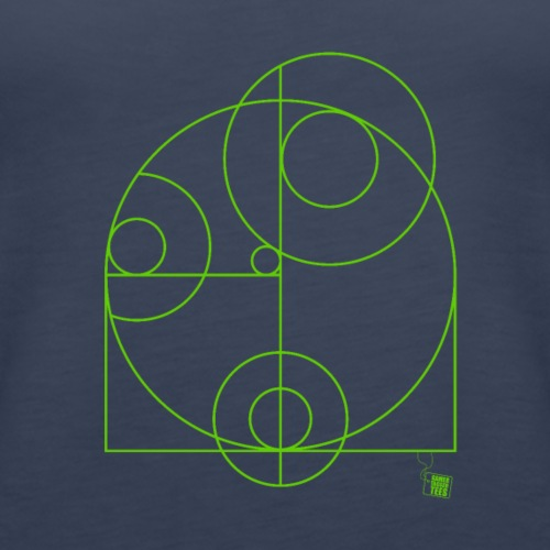Geometry - Circles - Women's Premium Tank Top
