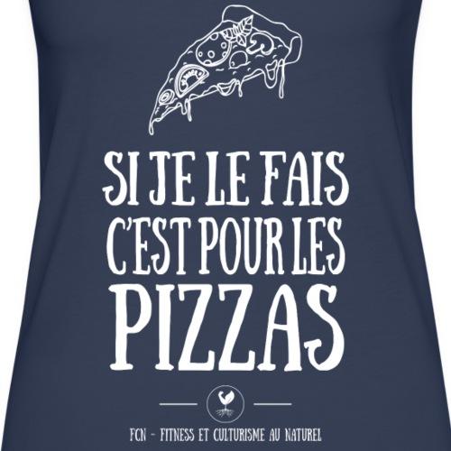 Pizza - Débardeur Premium Femme