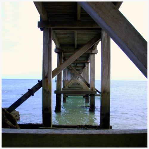 Sous l'estacade sur l'île de Noirmoutier - Débardeur Premium Femme