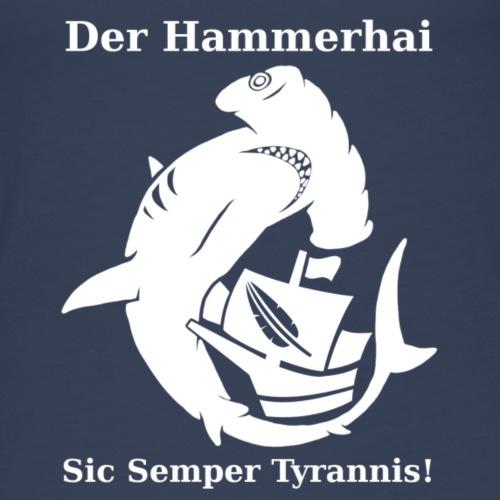 hammerhai weiß - Frauen Premium Tank Top