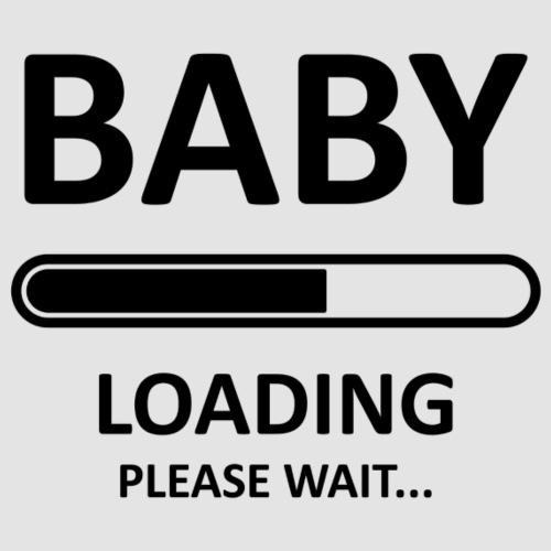 Baby loading svart - Premiumtanktopp dam