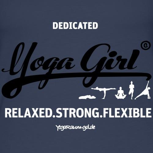 YR T Shirt YogaGirl - Frauen Premium Tank Top