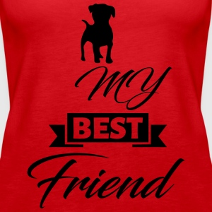 dog best friend - Women's Premium Tank Top