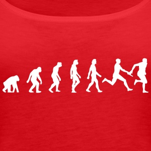 Evolution of Athletics - Dame Premium tanktop