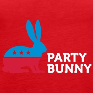 Political Party Animals: Bunny - Women's Premium Tank Top