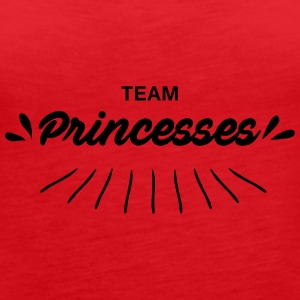 Team princesses - Women's Premium Tank Top