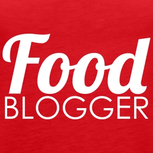 Food Blogger - Tank top damski Premium