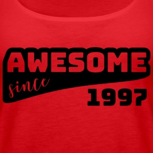Awesome since 1997 / Birthday-Shirt - Women's Premium Tank Top