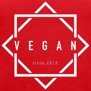 VEGAN since 2014 - Women's Premium Tank Top