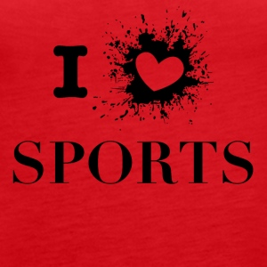 iLove sports - Women's Premium Tank Top