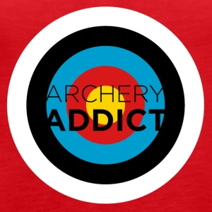 Archery Addict - Women's Premium Tank Top