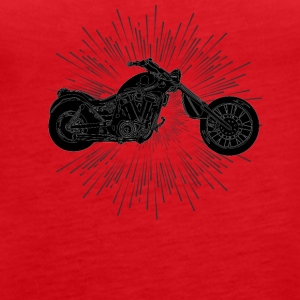 Motorcycle Time! - Women's Premium Tank Top