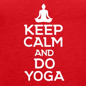 Stay calm and make YOGA - Women's Premium Tank Top