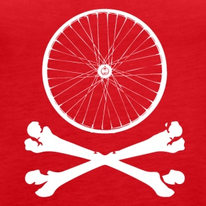 BIKE BONES - Women's Premium Tank Top