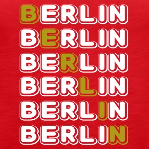 Berlin white - Women's Premium Tank Top