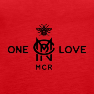 One Love - Manchester - Women's Premium Tank Top