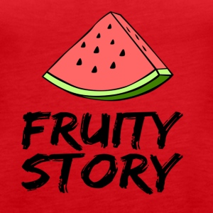 Fruity Story - Women's Premium Tank Top
