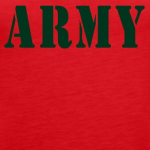 ARMY - Women's Premium Tank Top
