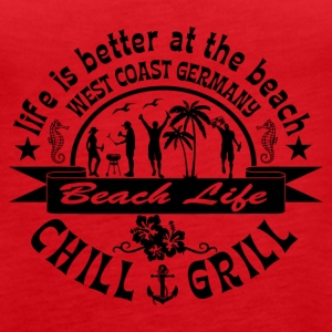 Chill Grill West Coast - Women's Premium Tank Top