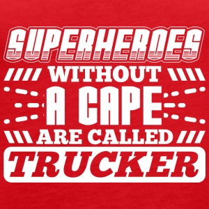 SUPERHEROES TRUCKER - Women's Premium Tank Top