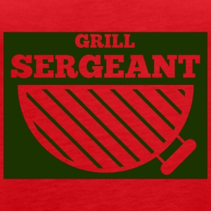 Military / Soldiers: Grill Sergeant - Women's Premium Tank Top