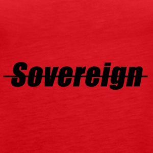 Sovereign Dash Black - Women's Premium Tank Top