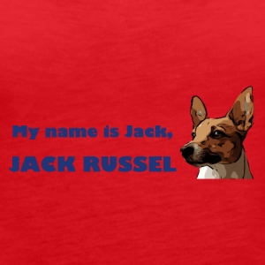 my name is jack blue - Frauen Premium Tank Top