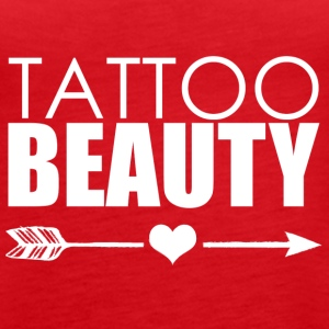 Tatovering Beauty tatovering - Dame Premium tanktop