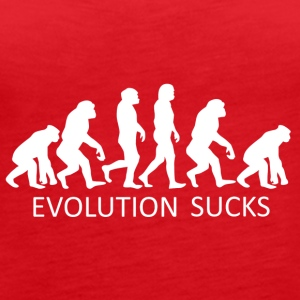 ++ ++ Evolution Sucks - Débardeur Premium Femme