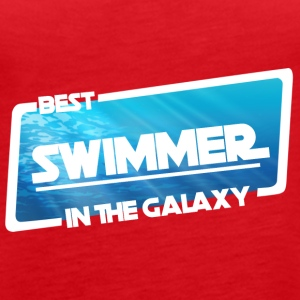 Swimming / Swimmer: Best Swimmer In The Galaxy - Women's Premium Tank Top