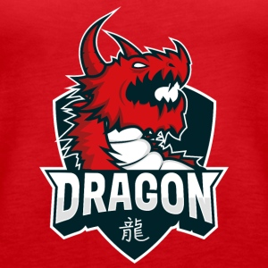 Dragon Teamlogo - Women's Premium Tank Top