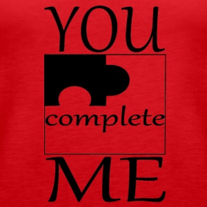 Partnerdesign YOU complete ME Part 2 - Frauen Premium Tank Top
