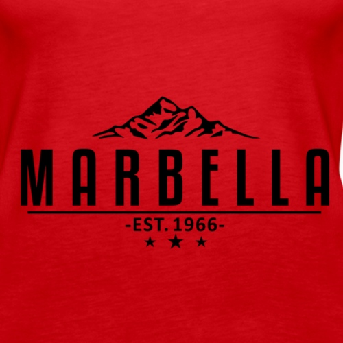 MARBELLA Mountain - Women's Premium Tank Top