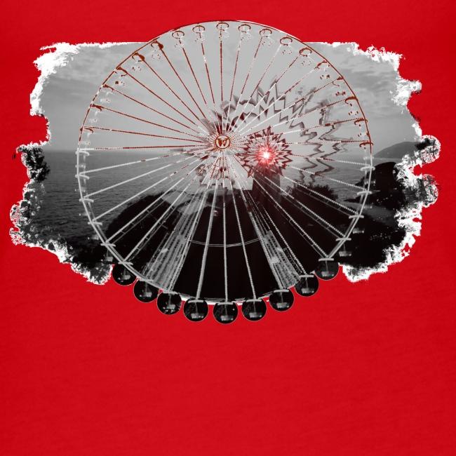 Ferris Wheel (grey/red)