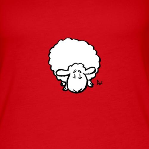 Owce - Tank top damski Premium