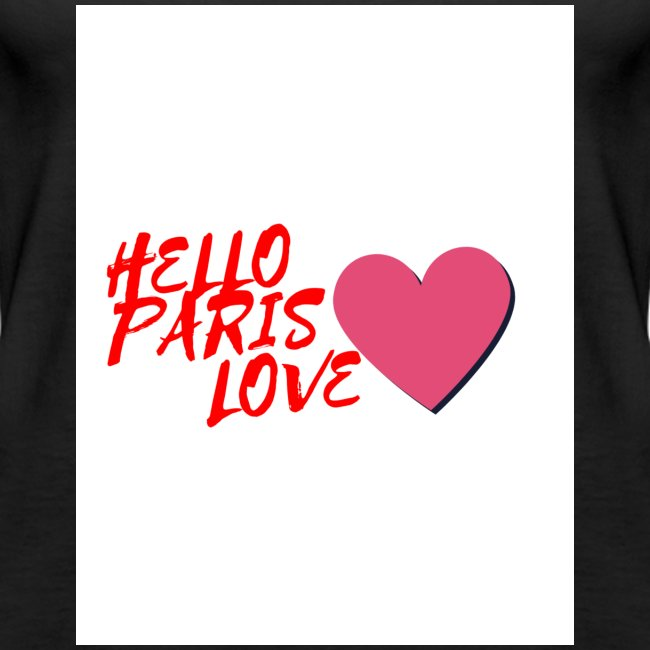 hello paris love rouge
