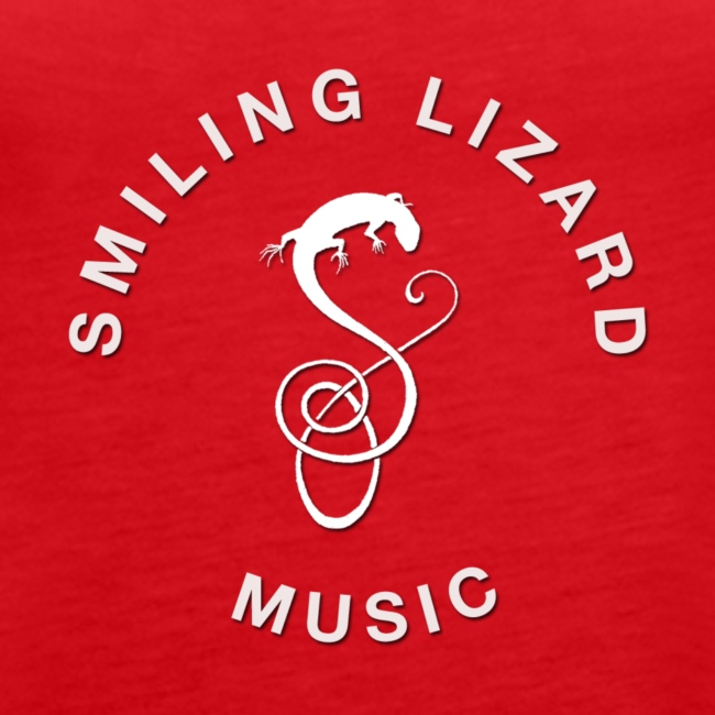 Smiling Lizard Music Logo weiß