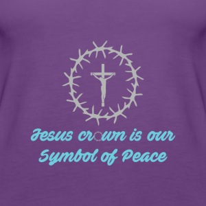 Sympol of Peace - Christian - Women's Premium Tank Top