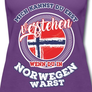 Understand - If you were in Norway - Women's Premium Tank Top