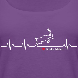 I love South Africa - Women's Premium Tank Top