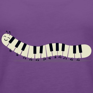 Caterpillar piano - Funny - Women's Premium Tank Top