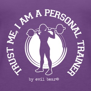 PERSONAL TRAINER 03 - Women's Premium Tank Top