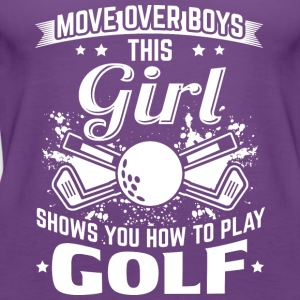 golf MOVE OVER drenge - Dame Premium tanktop