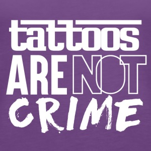 Tattoos are Not a Crime - Women's Premium Tank Top
