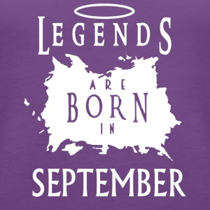Legend Birthday September - Women's Premium Tank Top